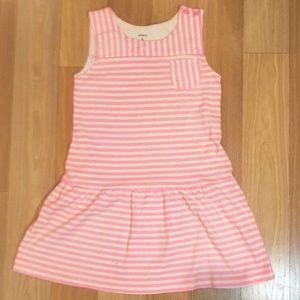 Girl's Carter's Striped Dress